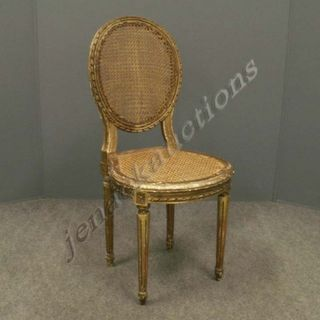 French giltwood chair