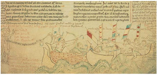 Death of Eustace the Monk at battle of Sandwich in 1216