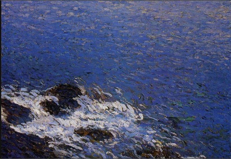 ART.Henri Martin.Evening at Collioure.