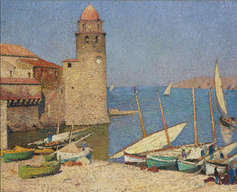 Art-Henri Martin. Collioure.1920.