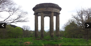 Hagley Hall rotunda
