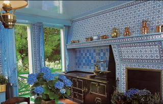 Monet's house-the kitchens