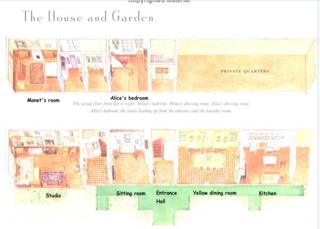 Monet's house-floorplan