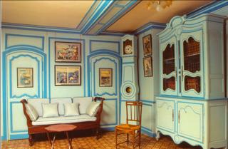 Monet's house-the sittting room