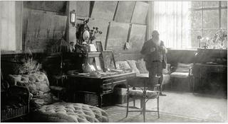 Monet's house-the studio