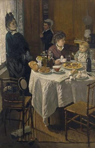 Monet.The luncheon.1868.