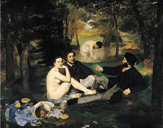 Manet.1863.Le déjeuner sur l'herbe.
