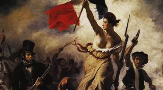 Delacroix.Liberty leading the people.1830.