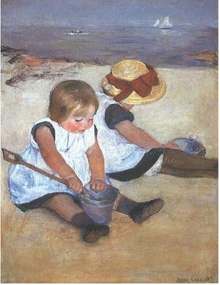Mary Cassatt.Children on the Beach.1884.