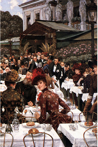Tissot.The artists's wives.1885
