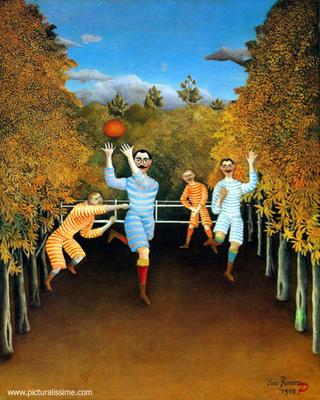 Rousseau, the jouers des football