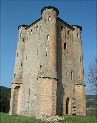 Donjon.D'arques, c 1300