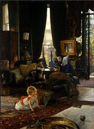 Tissot.Hide and Seek.1880