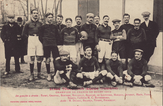 Toulouse-le Stade Toulousain in 1912