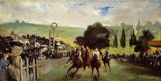 Manet.RacesatLongchamp.1867