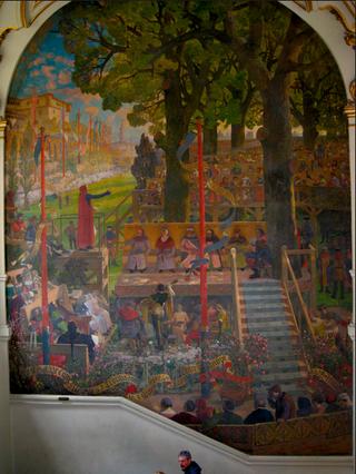 The first jeux des floraux, 1324
