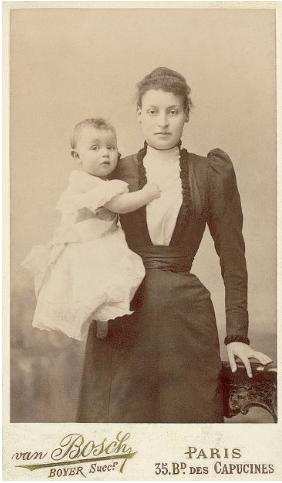 Lucie Dreyfus & Pierre.1891