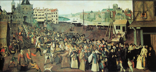 Procession of the League.1590.