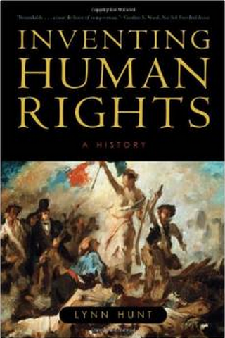 Inventing Human Rights.Lynn Hunt.cover
