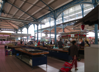 Dijon.The incredible quadruple halles.27July15