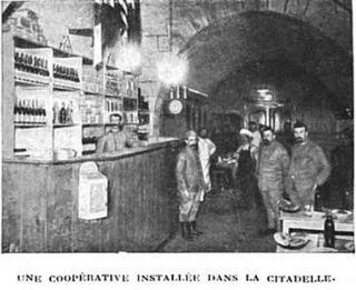 Verdun.1916.Bar in the Citadel