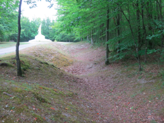 Verdun.Trenchs at Mort-Homme24July2015