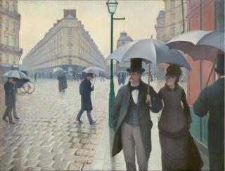 Caillebotte.Paris Street, Rainy Day.1877