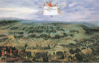 Battle of White Mountain.8 Nov 1620.defeat of Bohemians opposed Habsburgs.