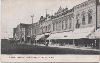 Atlantic Avenue.Morris, MN, c 1912