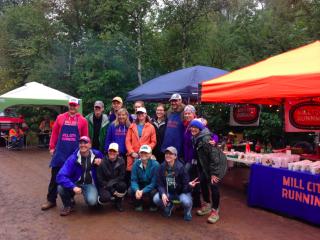 Superior 100.2016.Volunteers at Sawbill(?)