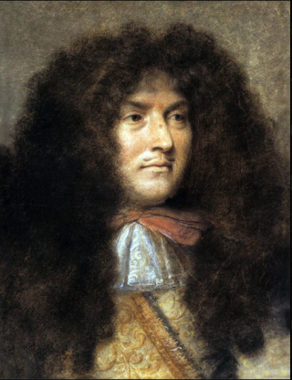 Louis XIV.by Charles le Brun.
