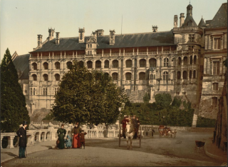 Francois I wing at Blois.c1890