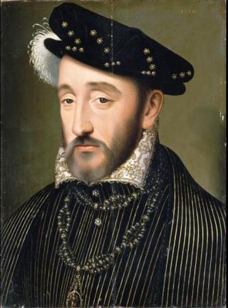 Francois Clouet. Henri II  1519 - 1559.