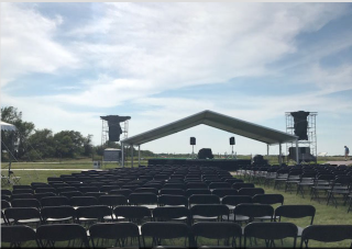 Omaha World-Herald.the stage at Homestead