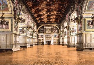 Henri IV ballroom  Fontainebleau