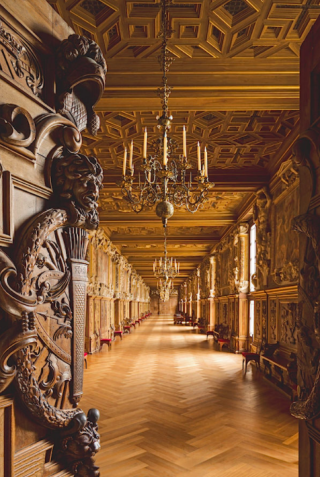 Fontainebleau--Gallery of François I