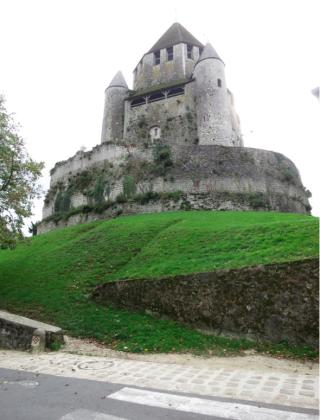 Provins.Tour Cesar on its mote.12 Oct 2018