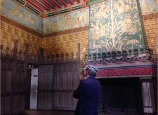 Pierrefonds.Napoleon III bedroom.17 OCT 2017