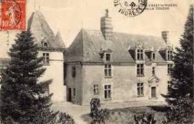Manoir de la Touch on old postcard.