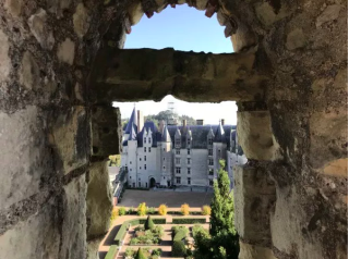Château de Langeais.view from donjon.iinternet source