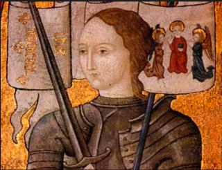 Joan of Arc.miniature c 1450 - 1500