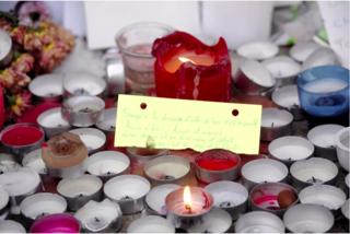 Toulouse.Nov15.candles to Paris.depeche du midi.XAVIER DE FENOYL