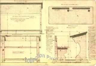 Scholar's desks were uniform in the young Republic.Musee de la maison d'ecole de Montceau les Mines