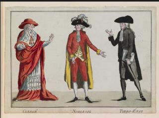 Clothes make the estate:clergy, nobles & third estate