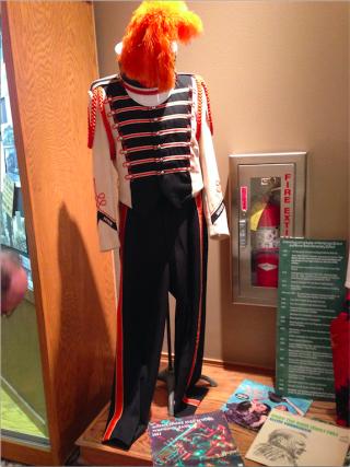 Morris Historical Society--MHS band uniforms.Aug2016