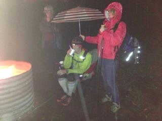 Superior 100.2016.Standing in the rain in Cramer