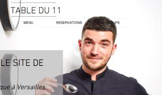 Young chef.Jean-Baptiste Lavergne-Morazzani