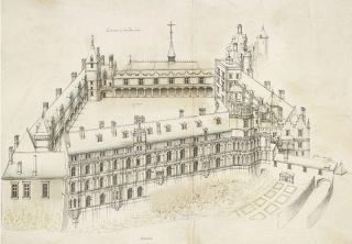 De Cerceau.Blois c 1575