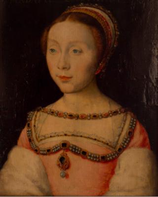 Corneille de Lyon.Beatrix Pacheco  c 1533