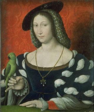 Clouet.c1527.Marguerite de Navarre.1492-1549.